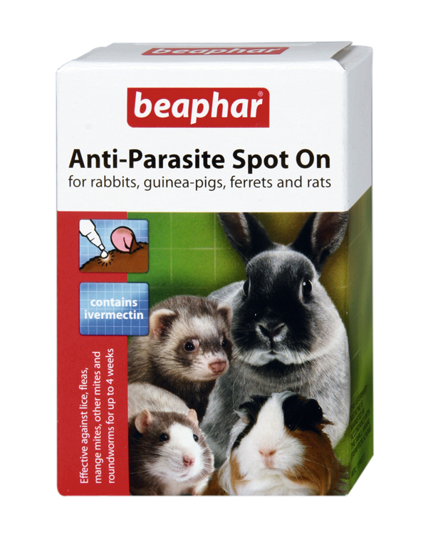 Beaphar Anti Parasite Spot On For Rabbit And Rodents
