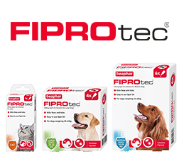 Beaphar FIPROtec Spot-On for Cats and Dogs in 1, 4 and 6 pipette packs